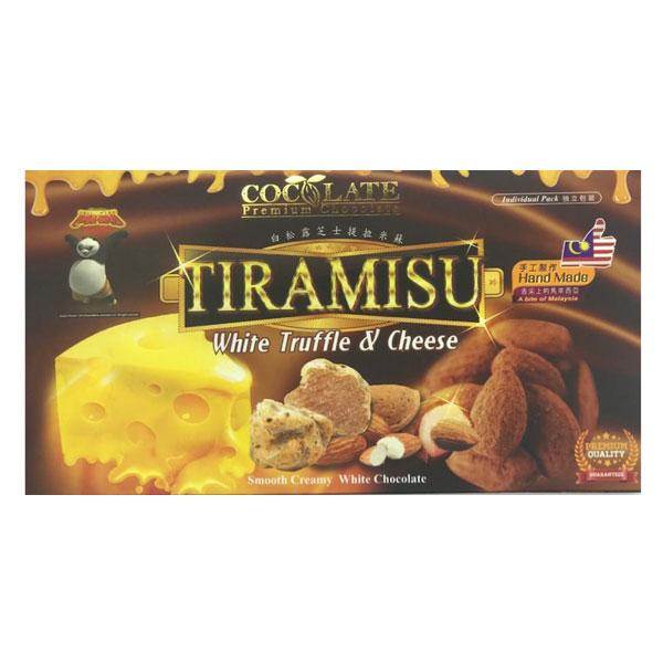 G&G Tiramisu White Truffle & Cheese Chocol...