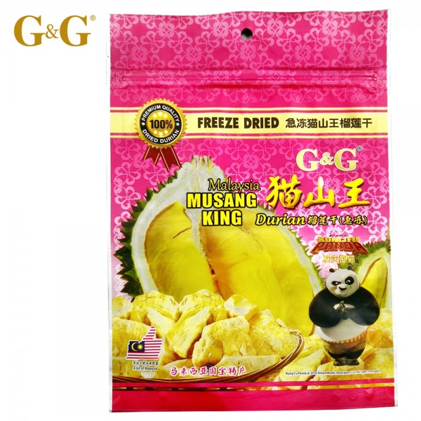G&G Freeze Dried Musing King Durian