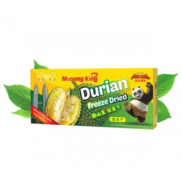 G&G Freeze Dried Musang King Durian