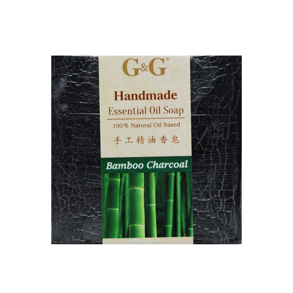 G&G Handmade Essential Oil Soap - Bamboo Charc...