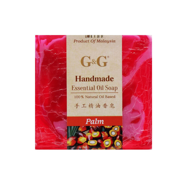 G&G Handmade Essential Oil Soap - Palm